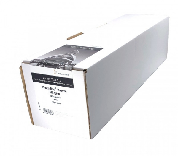 Photo Rag® Baryta 315 g/m² rouleau 60'' (1524mm) 12m