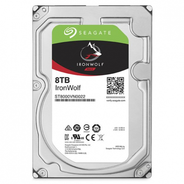 Disque dur NAS HDD 8To IronWolf 3,5inch