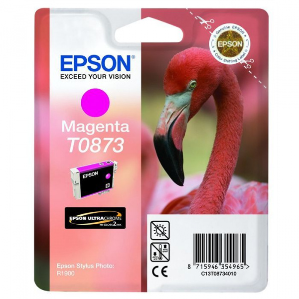 Cartouche ''Flamant Rose'' - Encre UltraChrome Hi-Gloss2 Magenta