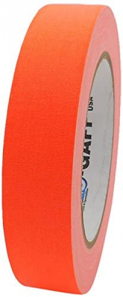 Gaffer US Pro Gaff® orange fluo, rouleau de 24mm x 22m