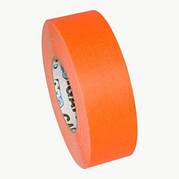 Gaffer US Pro Gaff® orange fluo, rouleau de 48mm x 22m